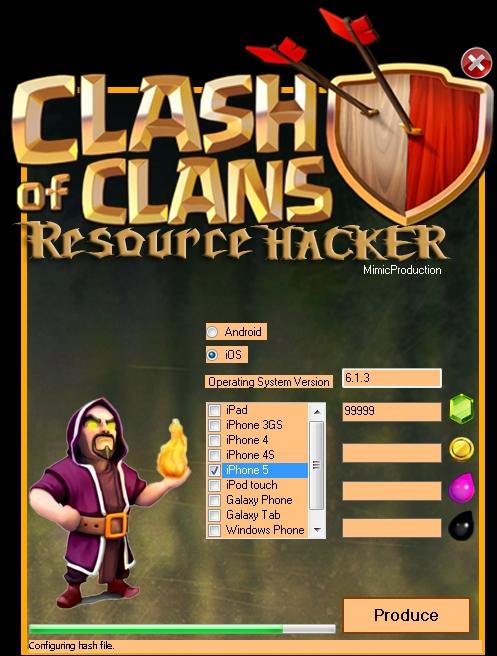 clash of clans hack iphone 5